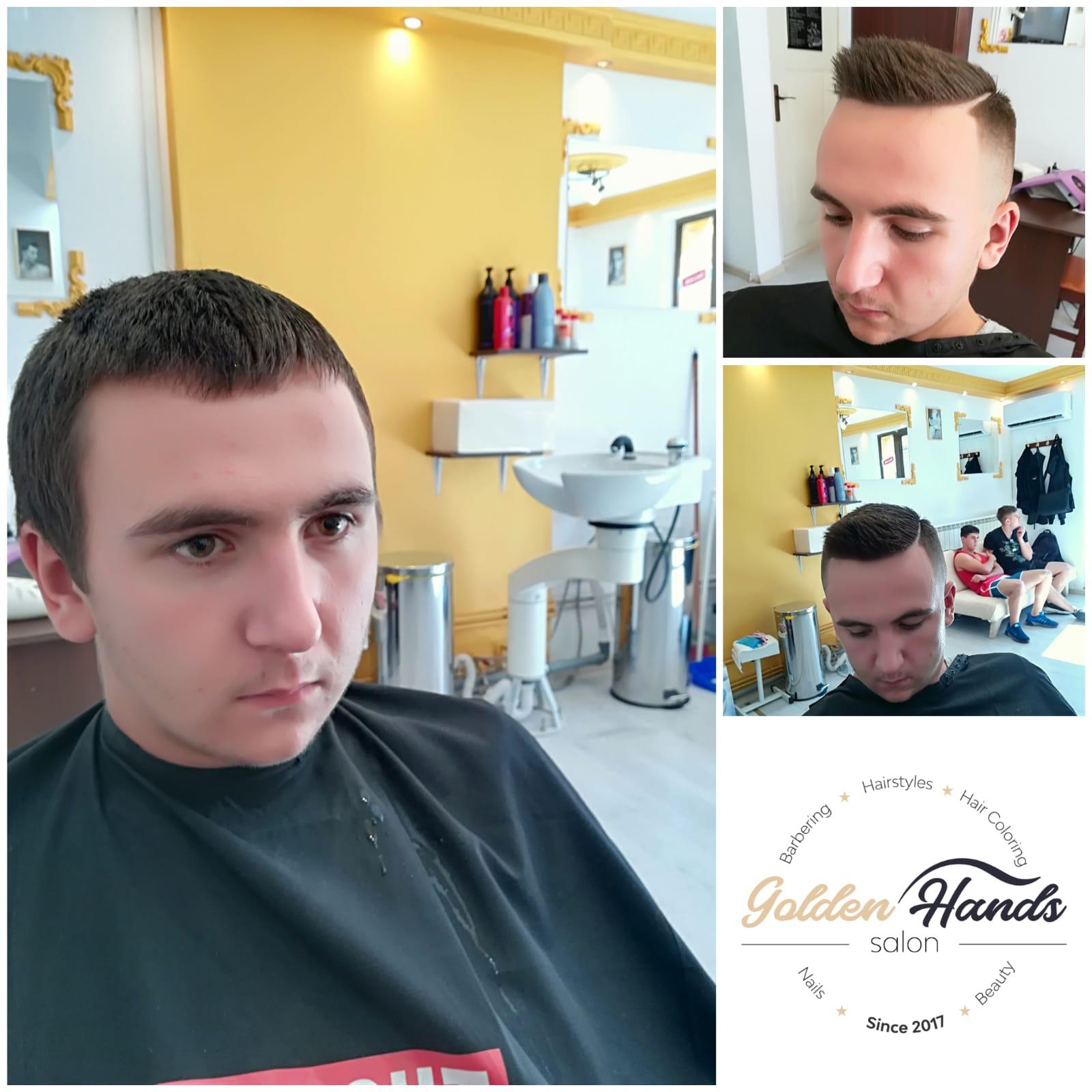 haircut-tuns barbati