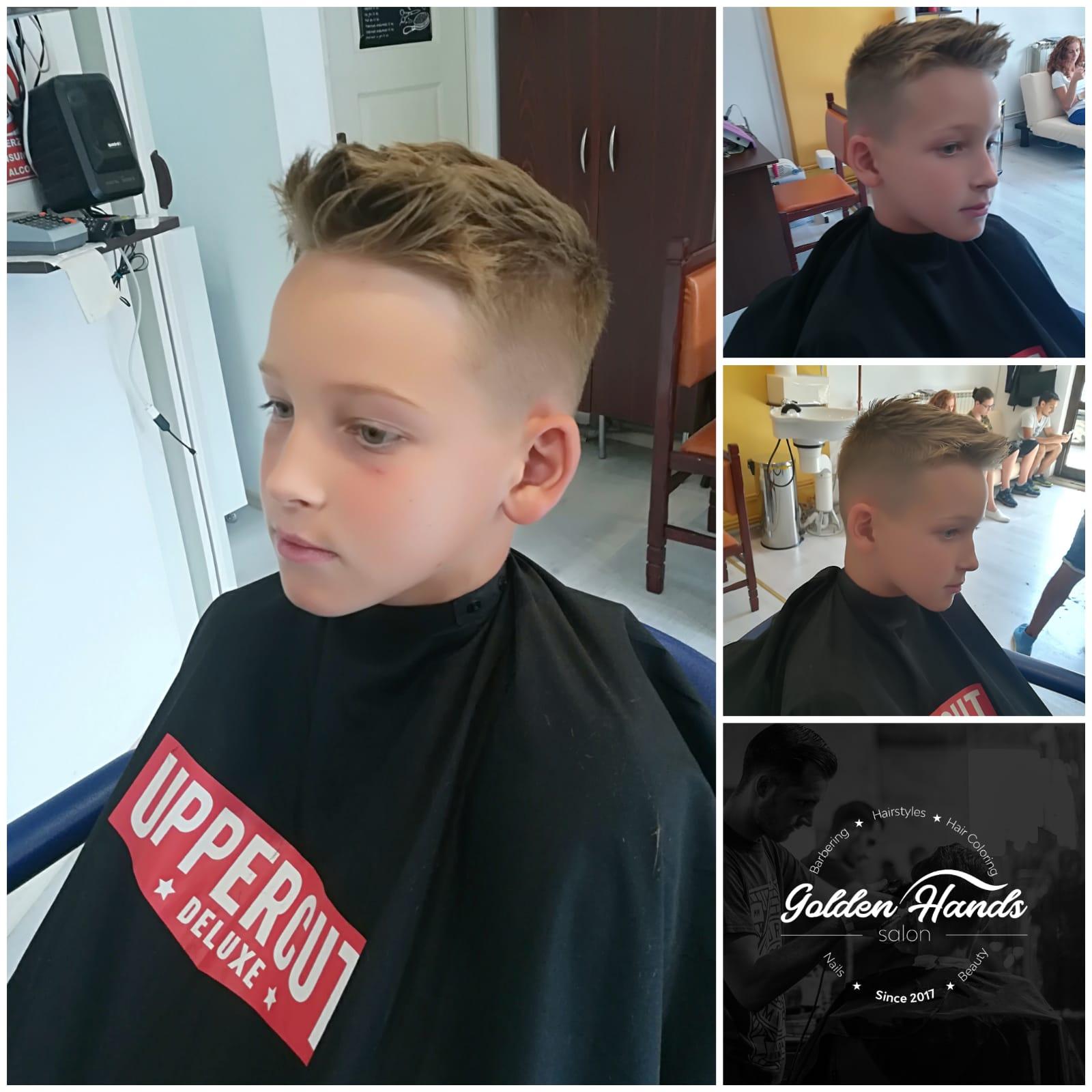 haircut-tuns copii